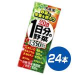 【30種類の野菜を使用】伊藤園 1日分の野菜 紙パック 200ml×24本